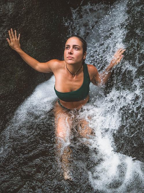 One Shoulder Sustainable Swimwear