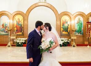 Fort Worth Greek Orthodox Wedding: Catherine & Ryan