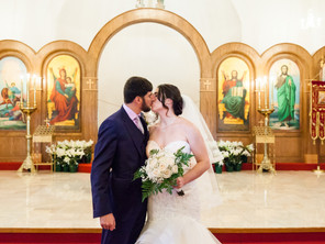 Fort Worth Greek Orthodox Wedding: Catherine & Ryan
