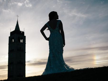 McKinney, Texas Bridal Portraits at Adriatica: Lili
