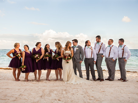 Tulum, Mexico Destination Wedding: Mallory & Mike at Secrets Akumal Riviera Maya