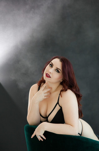 Risque Business Boudoir by Mary Cyrus Photography