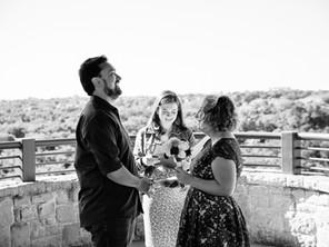 Plano, Texas Elopement: Kristi & CJ's Wedding at Arbor Hills Nature Preserve