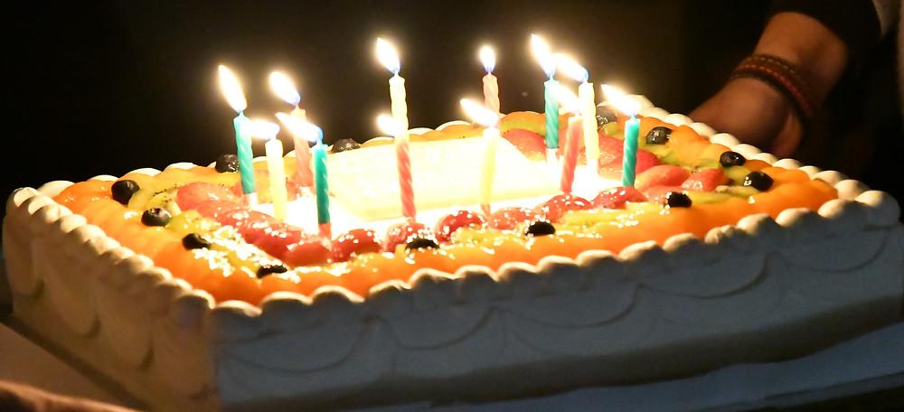 大きなケーキ!