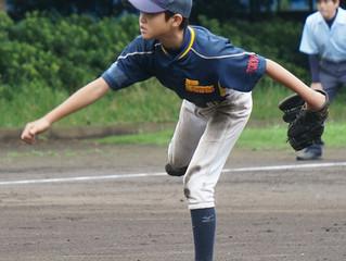 【シニア】東村山市東部少年野球大会1回戦vs青葉少年野球クラブ