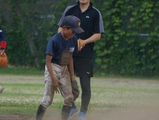 元プロ野球選手の指導を受けました