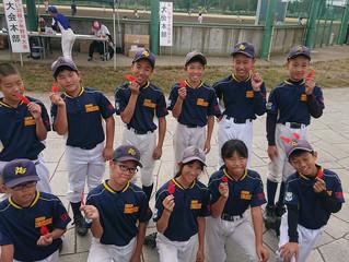 【シニア】赤い羽根少年野球大会 初戦突破