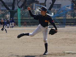 【シニア】練習試合vs青葉少年野球クラブ