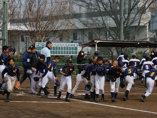 【シニア】三多摩春季初戦vs立川クラブ