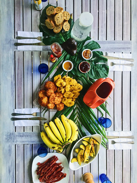 Family Style Vegan Breakfast