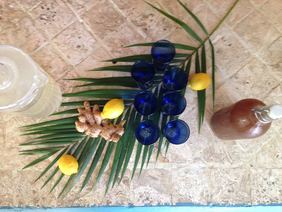 Lemon Ginger Kambucha