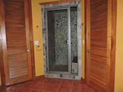 Large bathrooms, big showers!