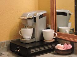 Coffee makers in each room