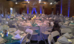 The Wedding Venue tables at Teaghlach Meadows