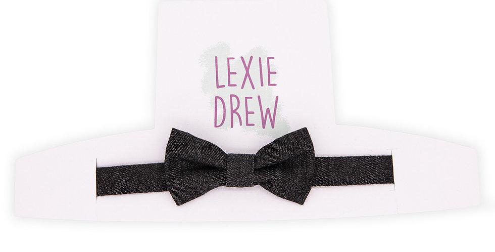 Dark Denim Little Man Bow Tie