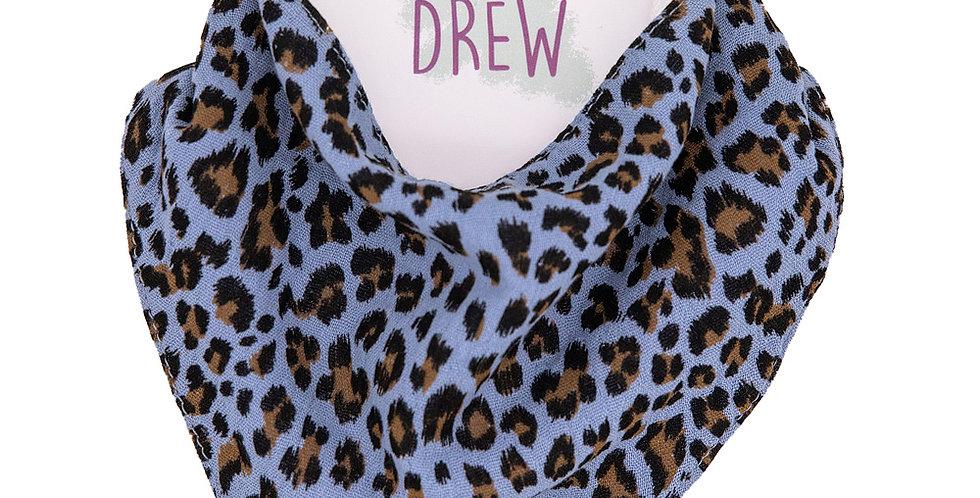 Leopard Print Outlaw Bib