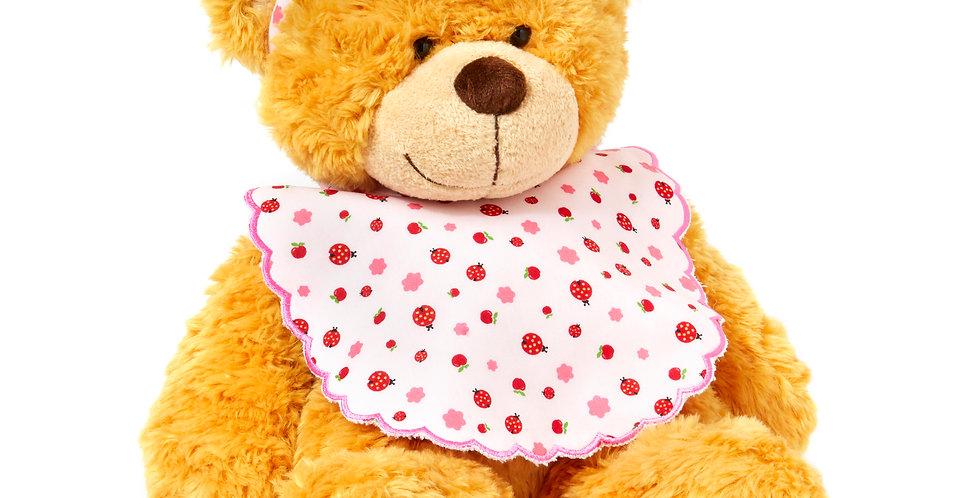Drew The Bear Matching Bib & Hairband Gift Set