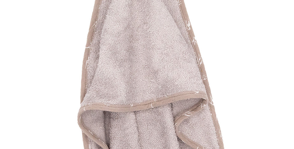 Swallow Trim Hooded Bamboo Towel & Flannel Set