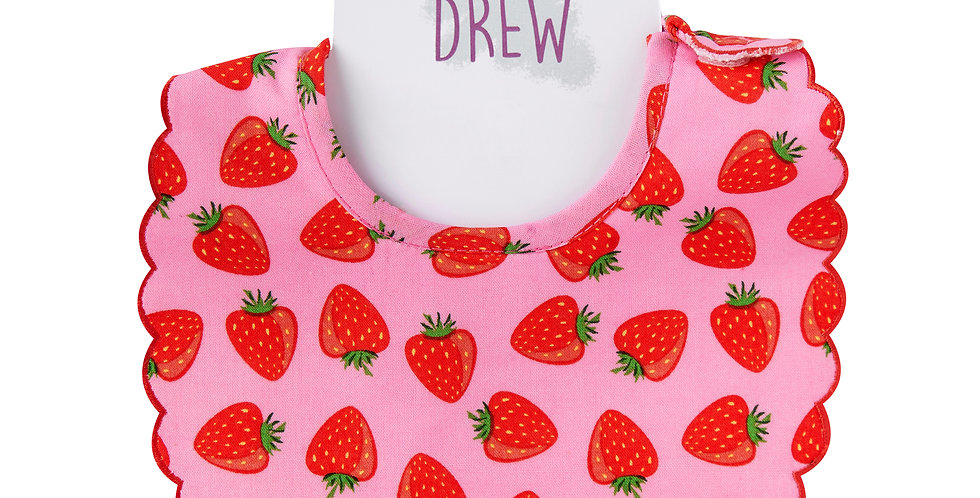 Strawberry Dolly Bib
