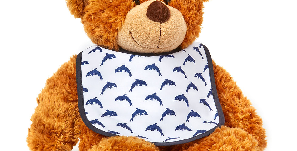 Drew The Bear Bib Gift Set