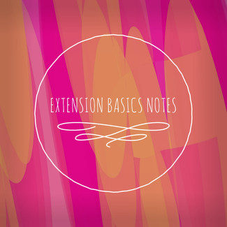 Hair Extensions Basics Notes