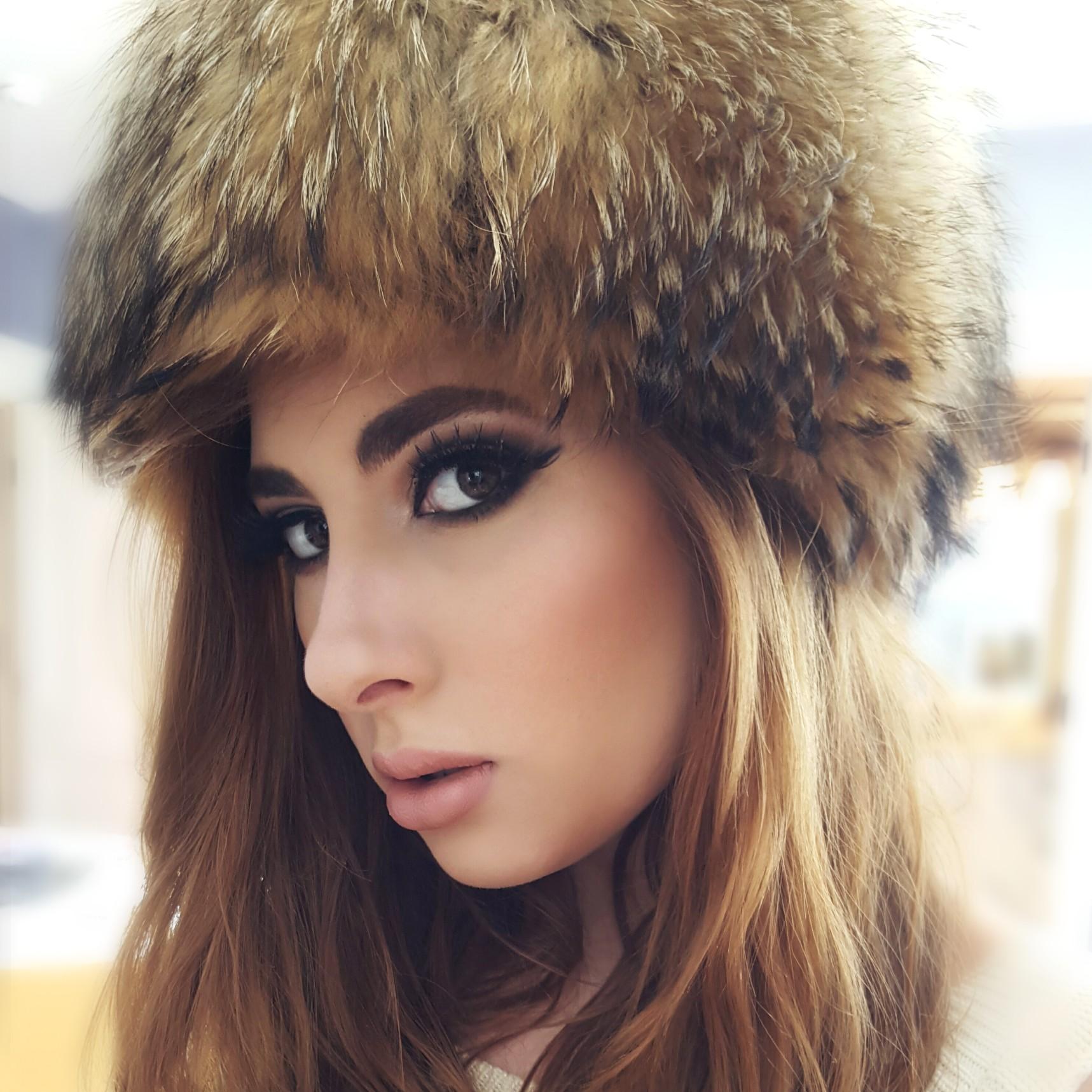 Russian Snow Bunny Makeup