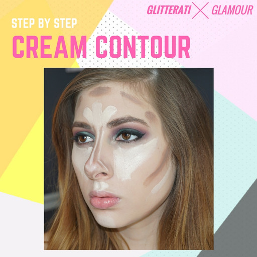 Step By Step Cream Contour