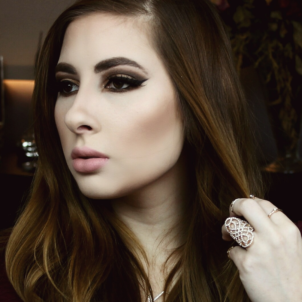 Dark and Smokey Makeup