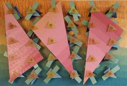 Triângulos rosas