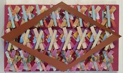 Estudo de padrões com losango