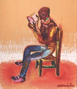 Luis Filipe Lendo Livro