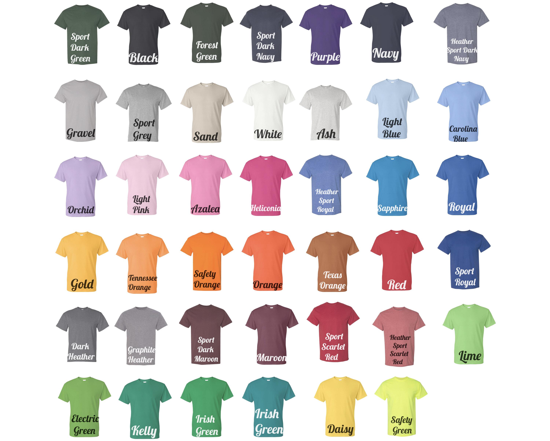Gildan T-Shirts 50_50