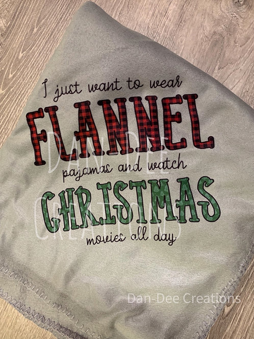 Flannel Pajama Blanket