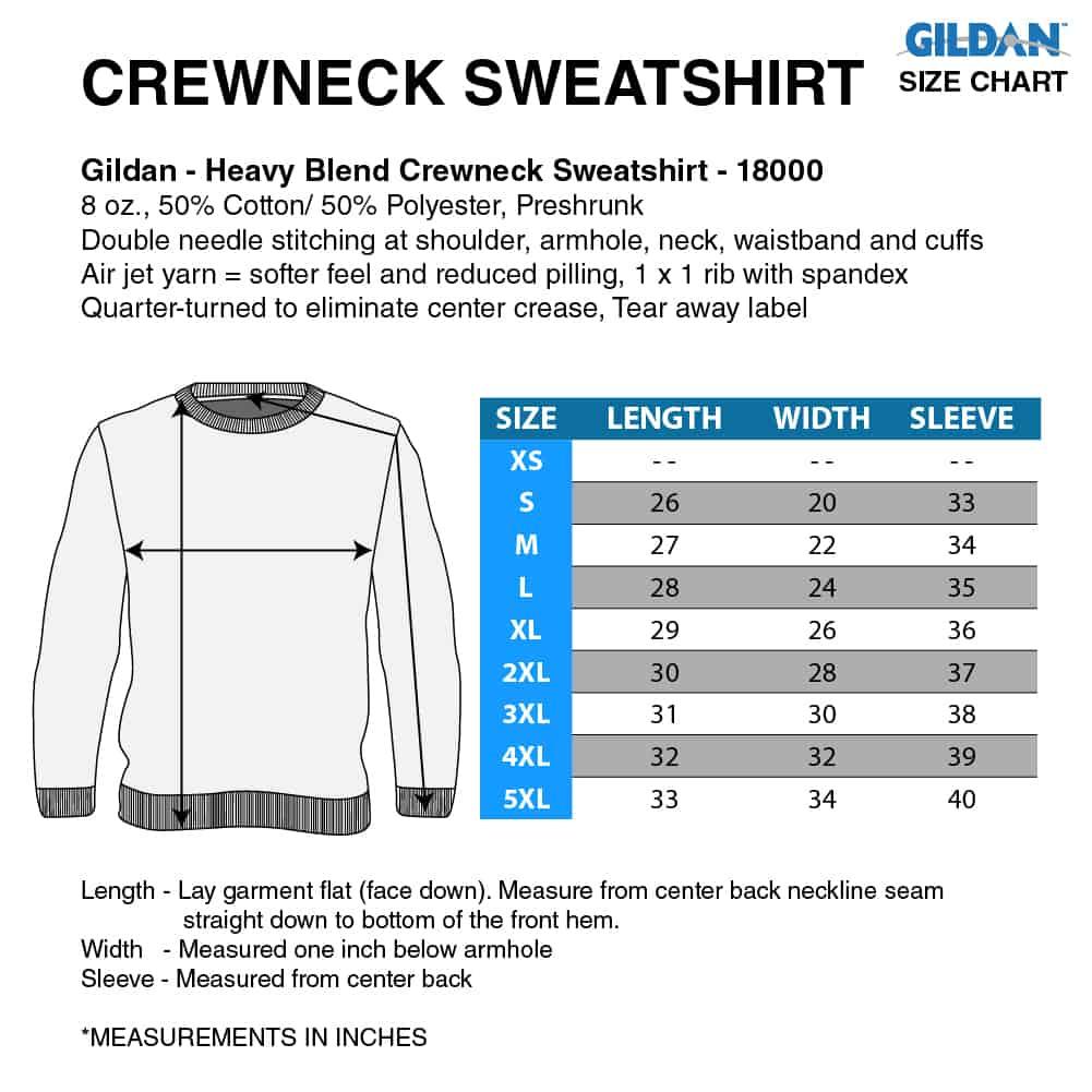 Sweatshirt-size-chart