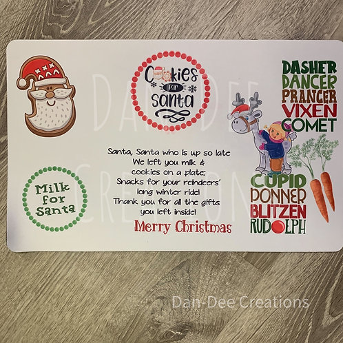 Santa Treat Place Mat