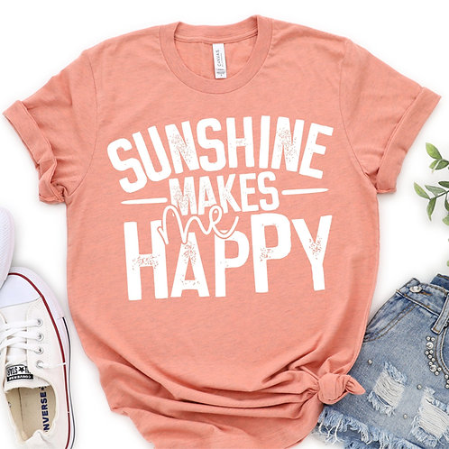 Sunshine Makes Me Happy