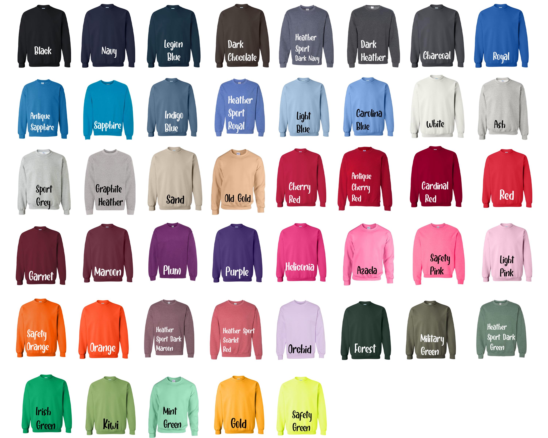Gildan Sweatshirt 50_50