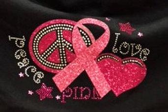 Peace Pink Ribbon