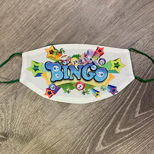 Bingo Green Face Coverings