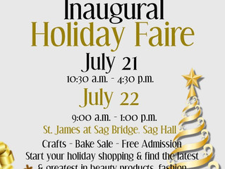 St. James Holiday Faire (Christmas In July)