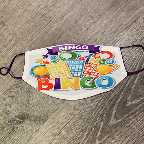 copy of Bingo Purple Face Coverings