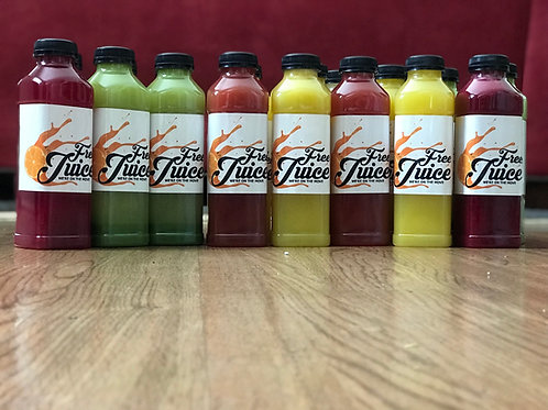 1 Day Juice Cleanse 9 Bottles