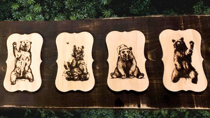 Bear Country Decor (Create your own)