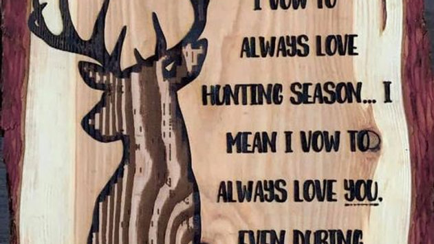 Home decor for hunters