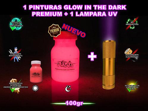 KIT 1 pintura Premium +1 lampara UV