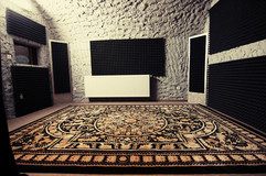 SILVER recording ROOM
