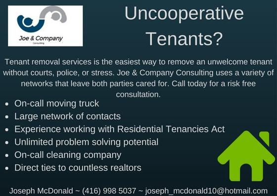 Uncooperative Tenant Removal Service