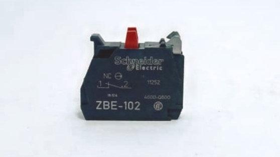 Bloco de Contato 01NF Schneider REF ZBE-102