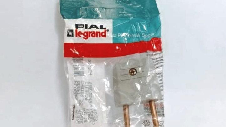Adaptador de Pinos Chatos p/ cilindrico 10A 250V Legrand REF. 51076