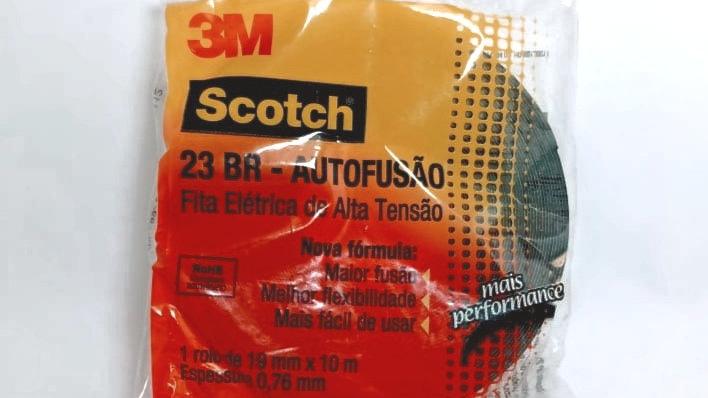 Fita Autofusão 19mm x 10 metros Scotch 23BR - 3M